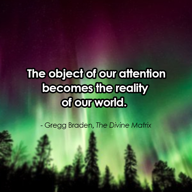 The Divine Matrix quote, law of attraction quotes