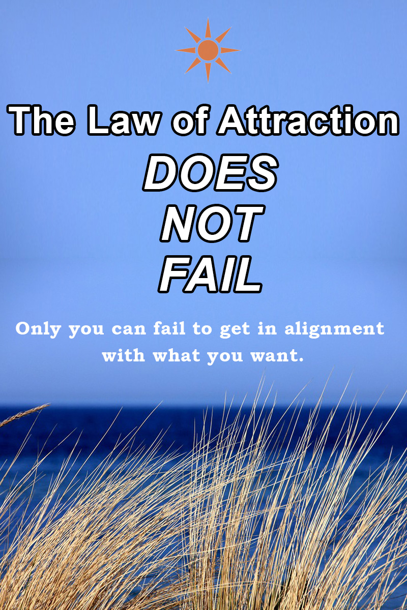 Law of attraction does not fail